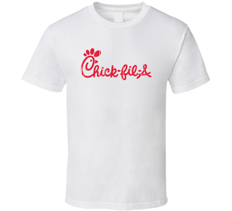 Chick Fil A Logo Popular Food Brand Company Fan Gift T Shirt