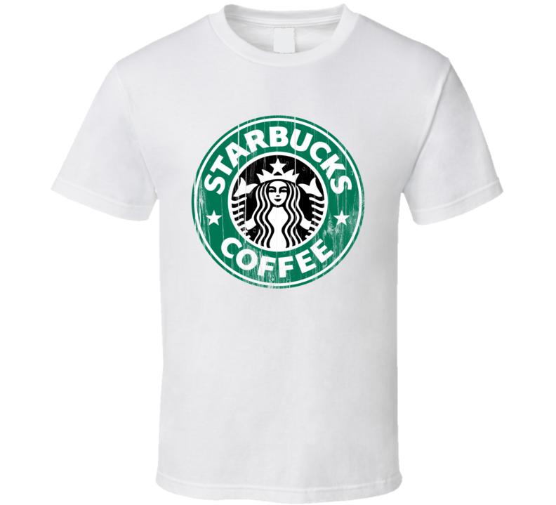 Starbucks Logo Popular Coffee Shop Java Joe Drink Food Gift T Shirt