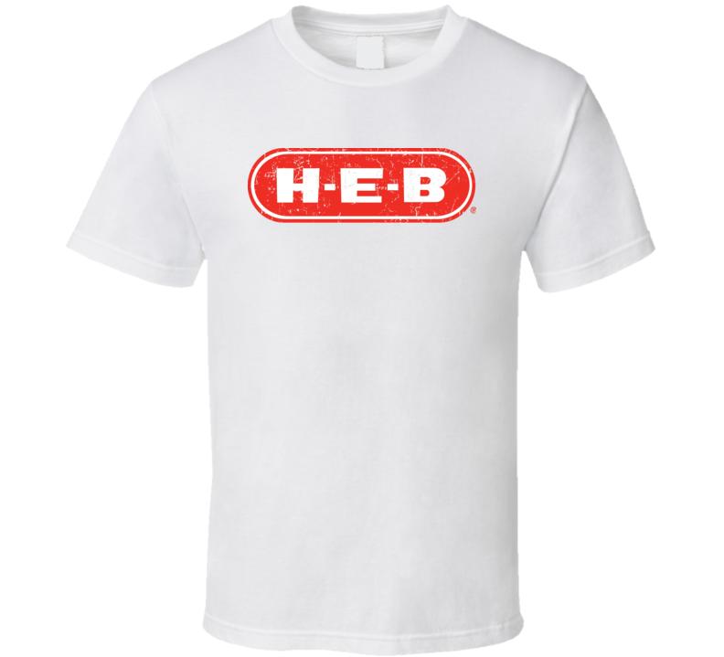 HEB Cool Popular Food Drink Restaurant Brand Logo Gift T Shirt