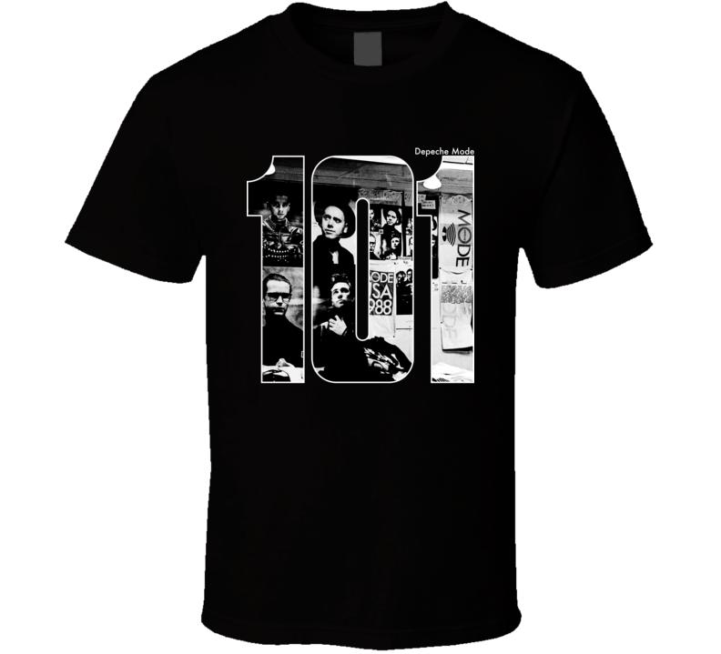 Depeche Mode 101 Tour Concert Inspired T Shirt