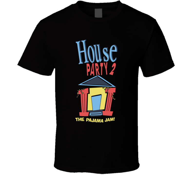 Kid'n Play 1992 House Party II 2 Movie Poster T Shirt