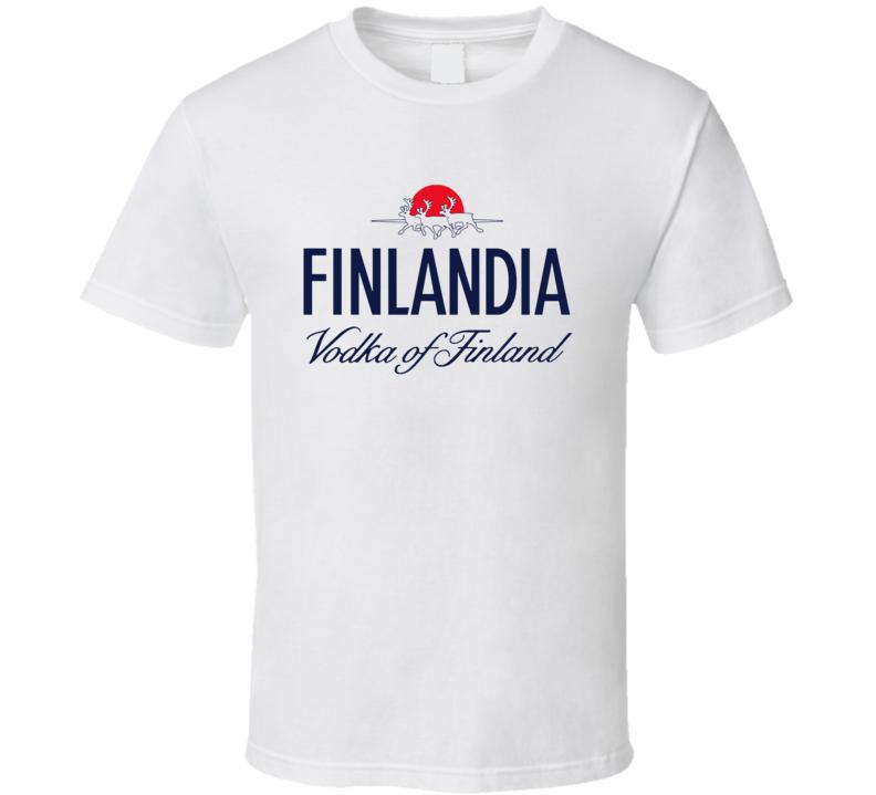 Finlandia Vodka Finland Liquor Alcohol Lovers T Shirt