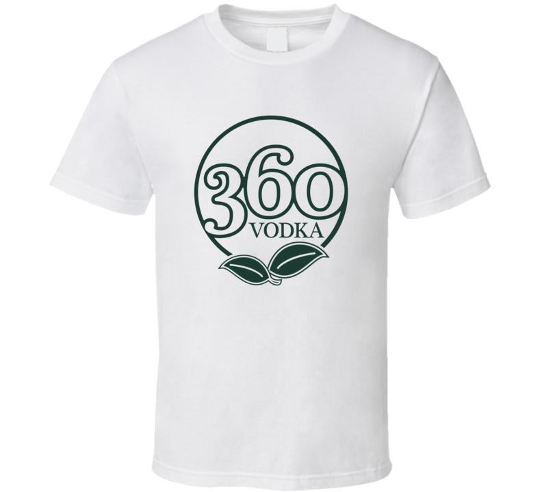 360 Vodka Eco Friendly American Liquor Alcohol Lovers T Shirt