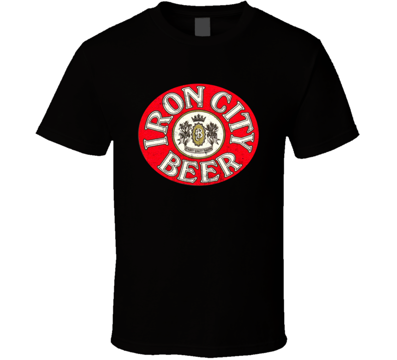 Iron City Beer Pittsburgh Retro Distressed Look Beer Lovers T Shirt