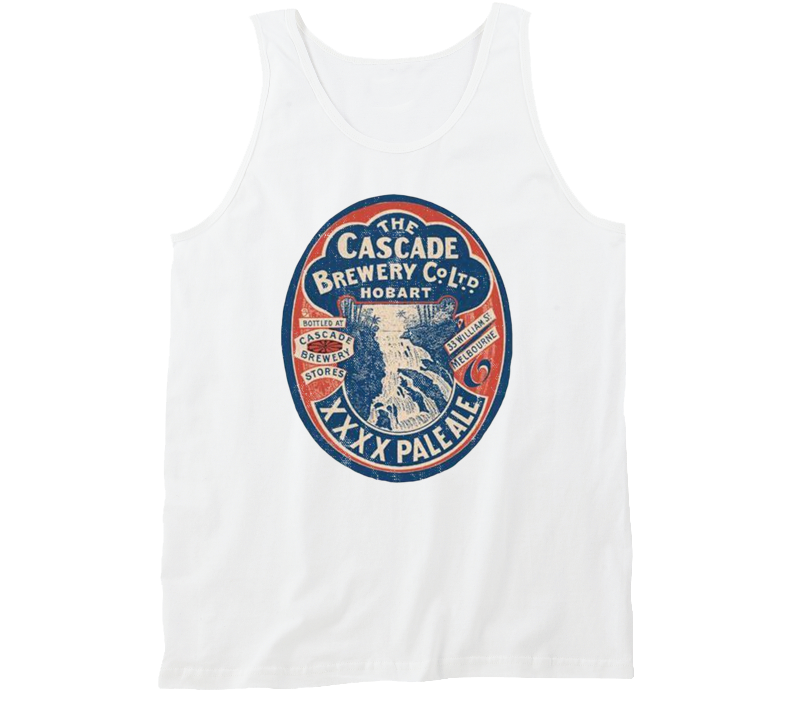 Cascade Brewery Xxxx Pale Ale Vintage Beer Bottle Label Tanktop