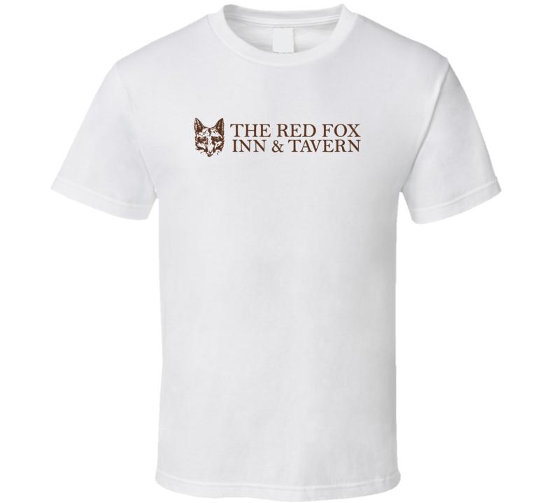 The Red Fox Inn And Tavern Virginia's Most Historic Restaurant T Shirt