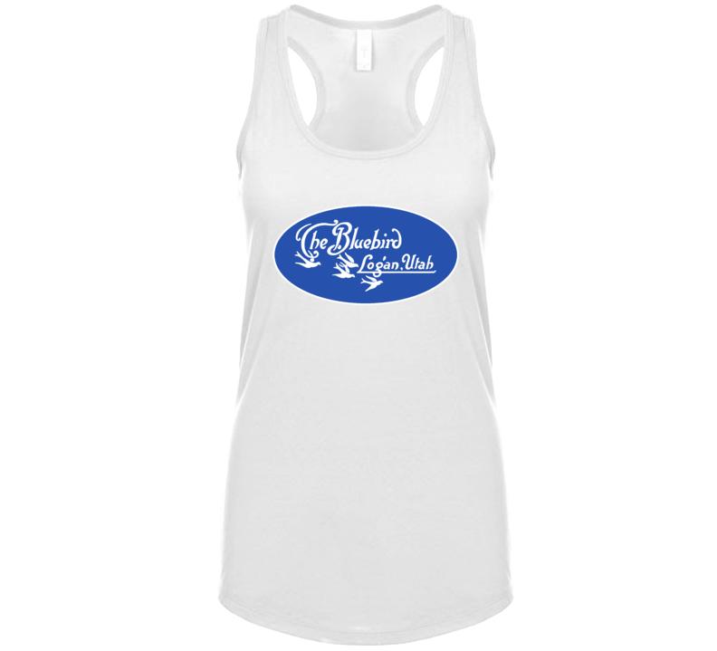 The Bluebird Restaurant Utah's Most Historic Restaurant Womens Tanktop