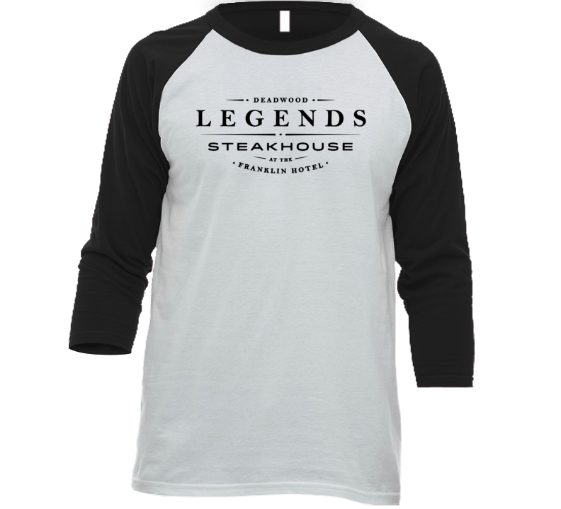 Legends Steakhouse South Dakota's Most Historic Restaurant Raglan T Shirt