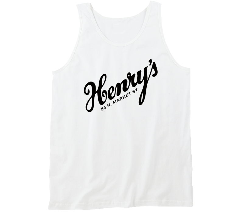 Henry's On The Market Bar And Restaurant South Carolina's Most Historic Restaurant Tanktop