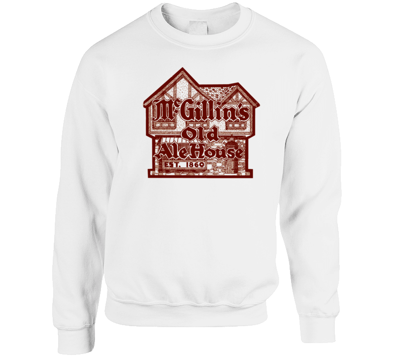 Mcgillins Old Ale House Pennsylvania's Most Historic Restaurant Crewneck Sweatshirt