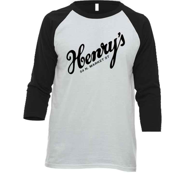 Henry's On The Market Bar And Restaurant South Carolina's Most Historic Restaurant Raglan T Shirt