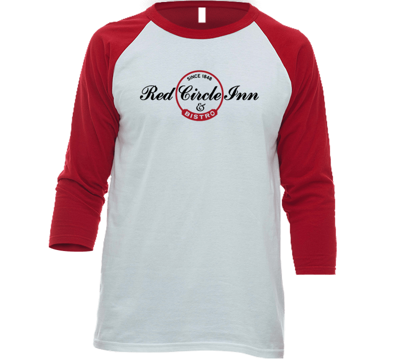 Red Circle Inn And Bistro Wisconsin's Most Historic Restaurant Raglan T Shirt