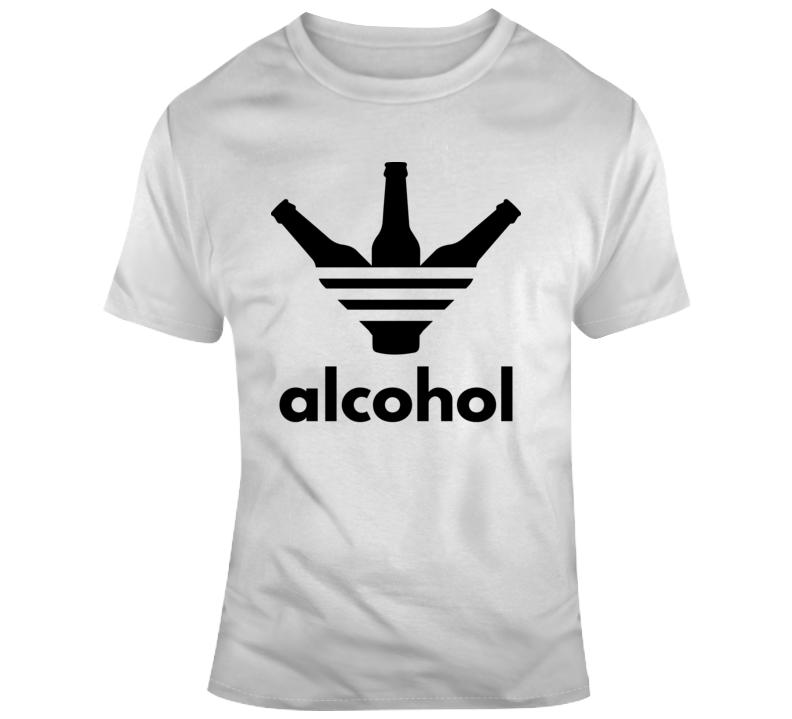 Alcohol Funny Parody T Shirt