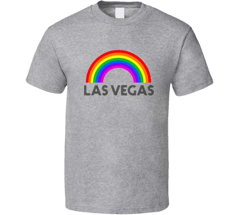 Las Vegas Rainbow City Country State Pride Celebration T Shirt