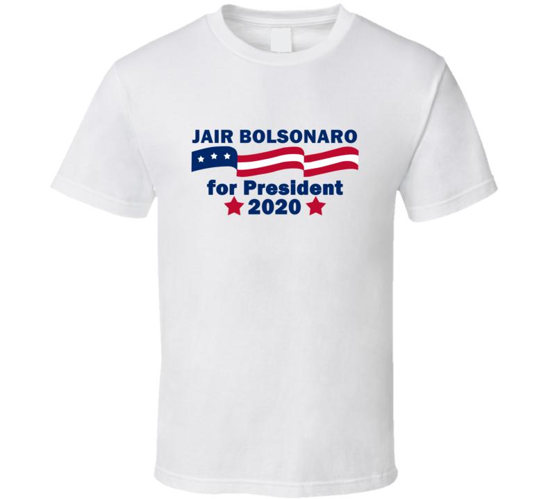 Jair Bolsonaro For President 2020 Most Influential People Fan T Shirt
