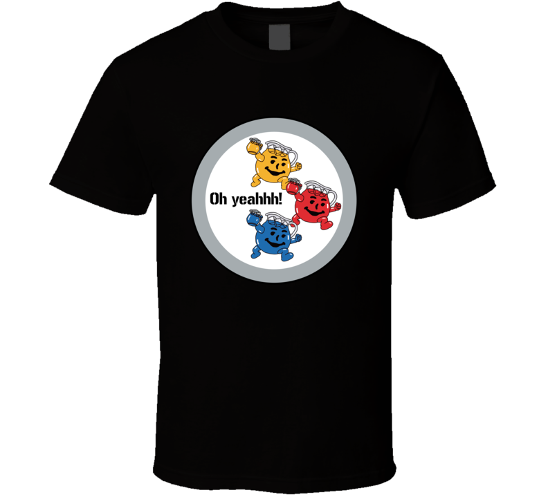 Oh Yeah Kool Aid Man Pittsburgh Football Parody T Shirt