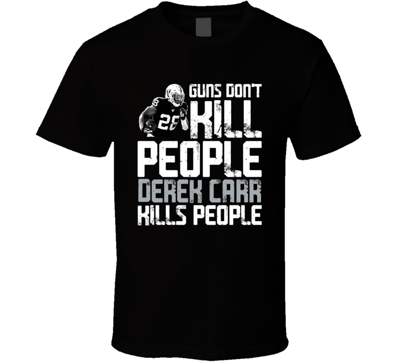 Guns Dont Kill Josh Jacobs Kills People Las Vegas Football T Shirt