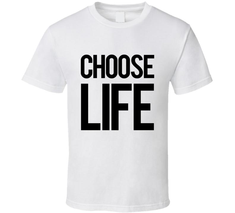 Choose Life Popular Hot Tub Time Machine Movie T Shirt