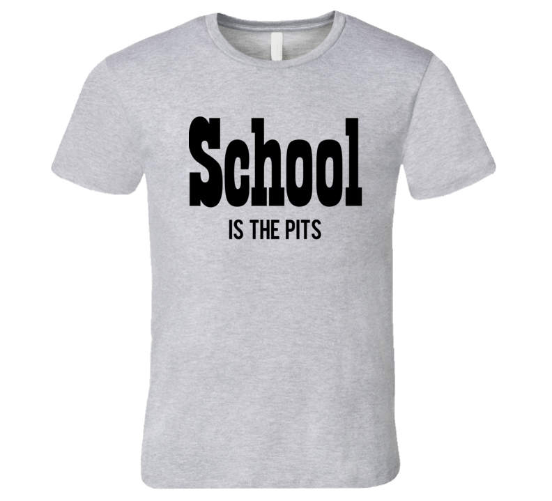School Is The Pits Overboard Popular 80s Movie T Shirt