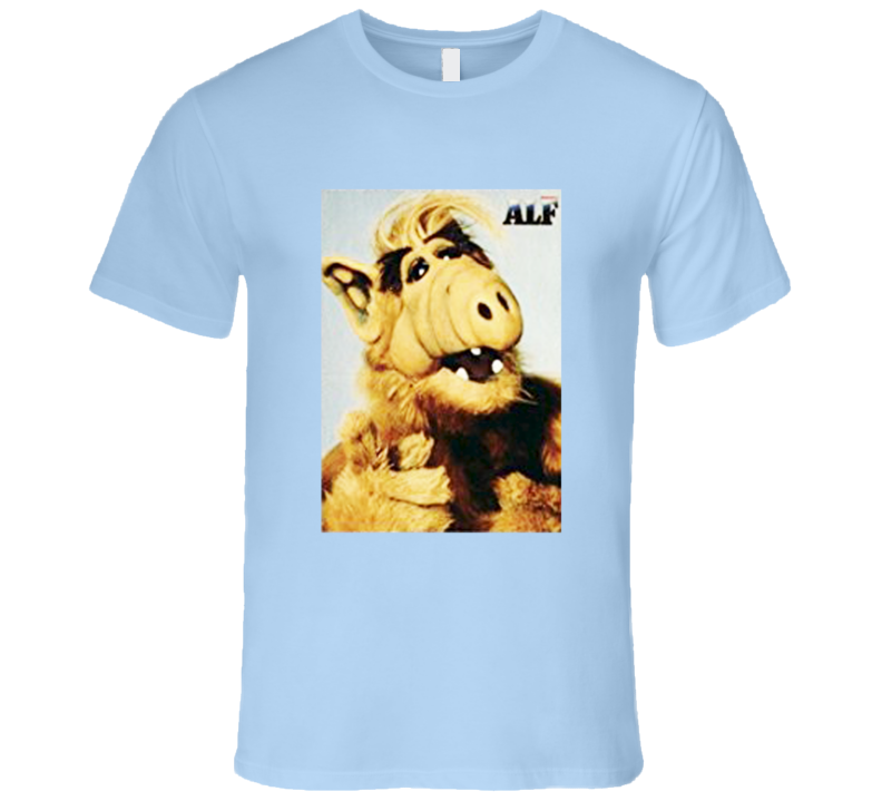 Alf Vintage Style Funny Chuck Popular TV Show T Shirt