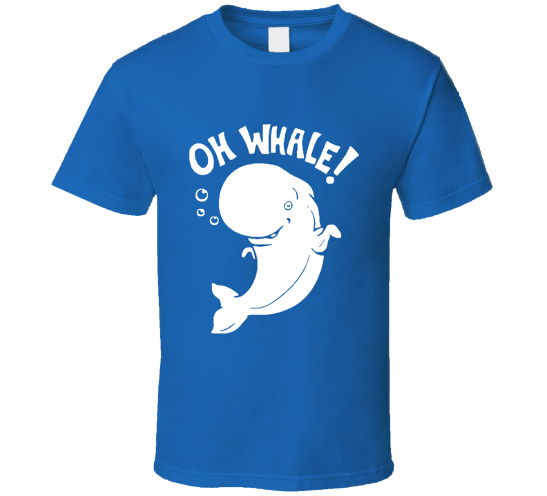 Oh Whale Fun Austin And Ally Popular TV Show T Shirt