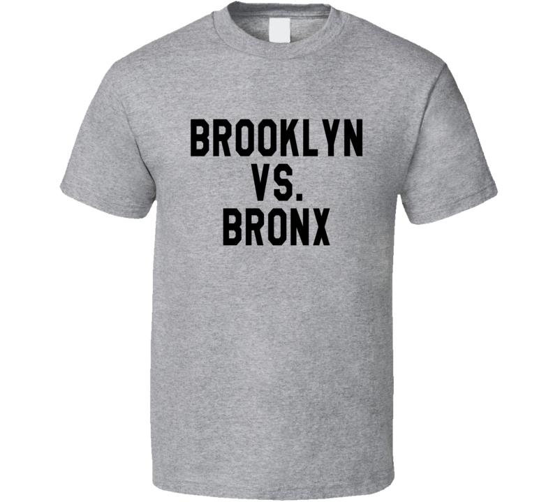Brooklyn Vs Bronx The Odd Couple Matthew Perry Popular TV Show T Shirt