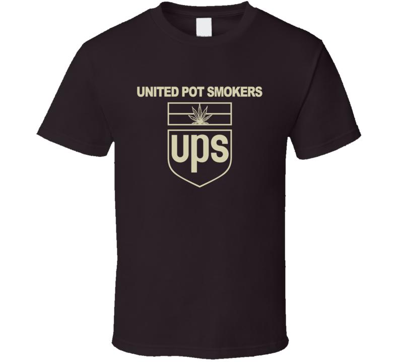 UPS Parody United Pot Smokers Fun SLC Punk Popular Movie T Shirt