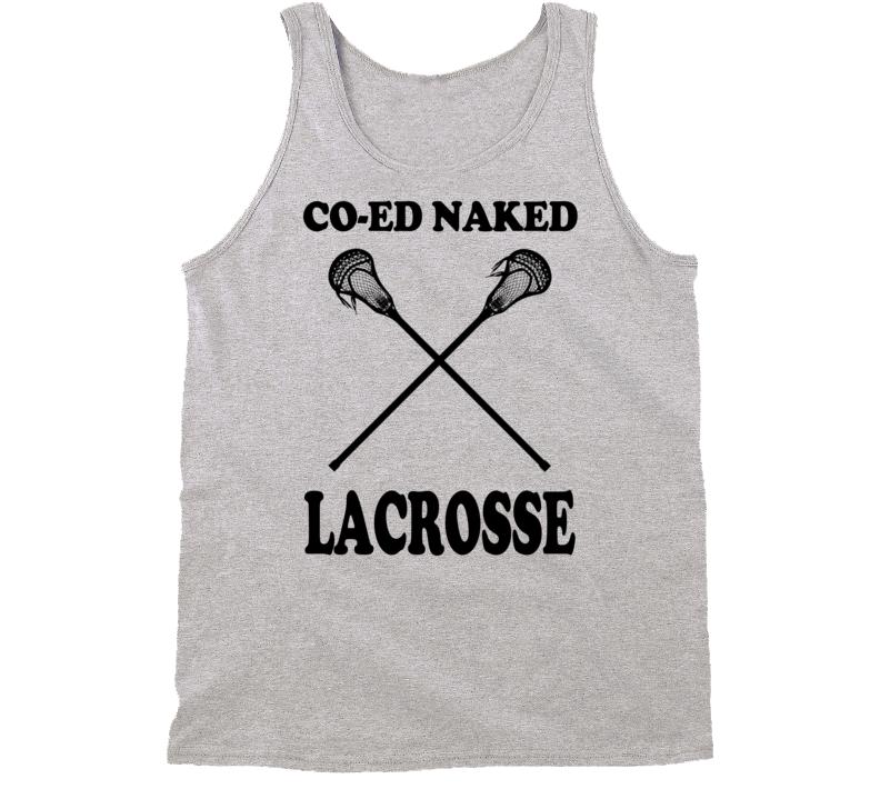 Co Ed Lacrosse Fun Ping Pong Summer Movie Tank Top Shirt