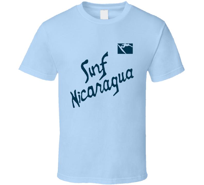 Surf Nicaragua Fun Real Genius Popular Movie T Shirt