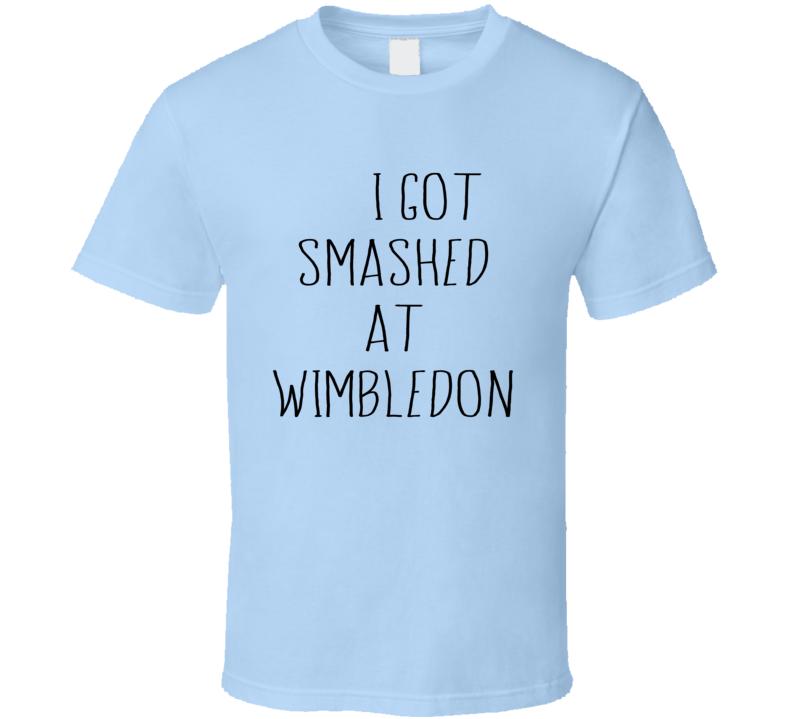 I Got Smashed At Wimbledon Krusty Fun The Simpsons Popular TV Show T Shirt