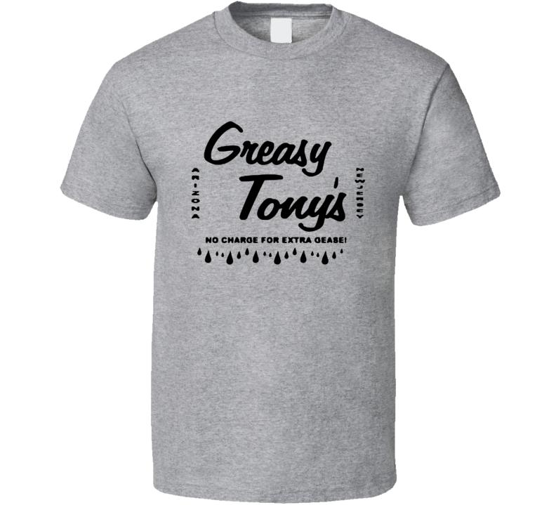 Greasy Tonys Funny Revenge of the Nerds Popular Movie T Shirt