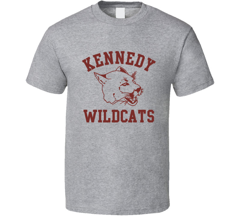 Kennedy Wildcats Fun The Wonder Years Popular TV Show T Shirt