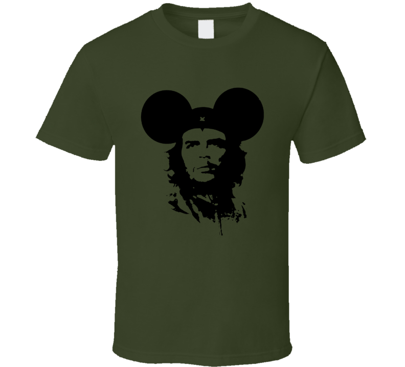 Che Guevara Mickey Mouse Ears Funny Grandmas Boy Popular Movie T Shirt