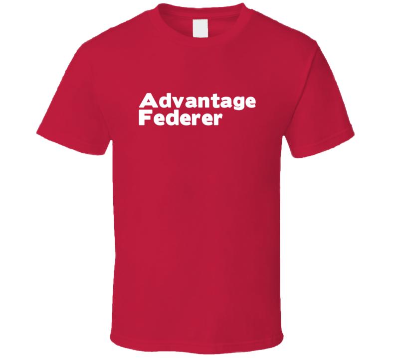 Advantage Federer Trending Tennis T Shirt