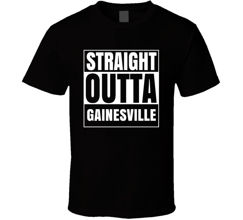 Straight Outta Gainesville Virginia City Parody T Shirt