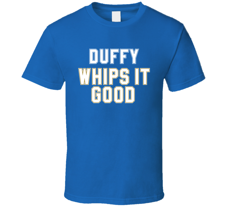 Danny Duffy Whips It Good Kansas City Baseball Pitcher Fan T Shirt