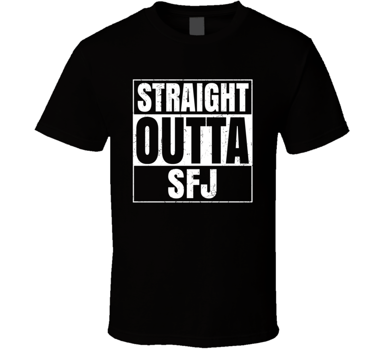 Straight Outta SFJ Greenland Sondre Stromfjord Airport T Shirt