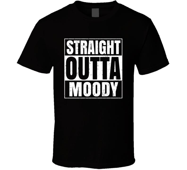 Straight Outta Moody Food Compton Parody T Shirt