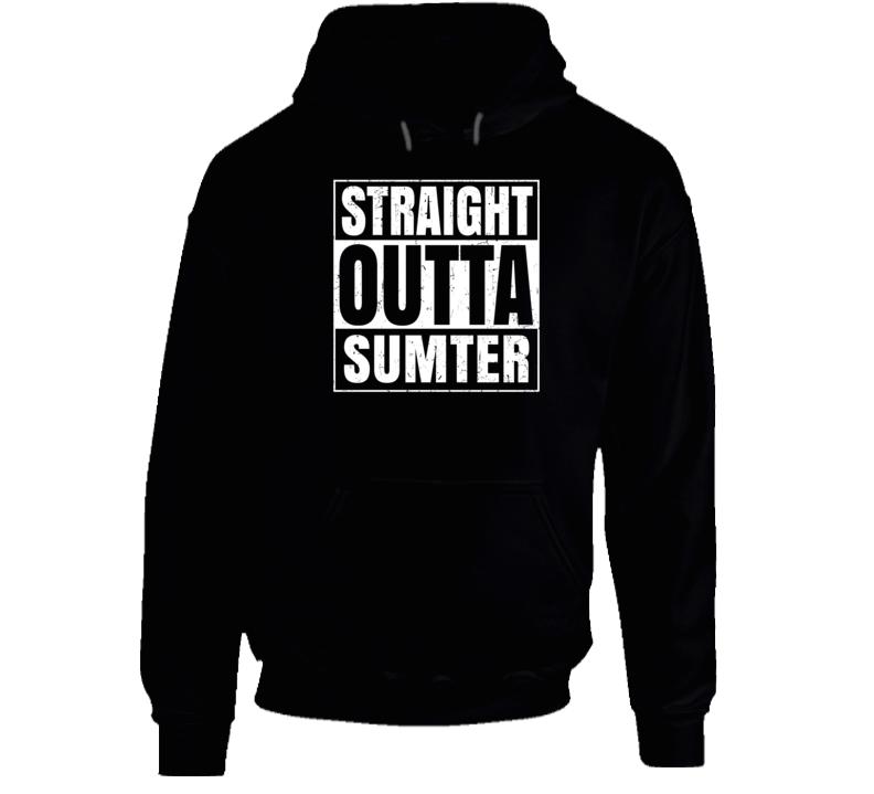 Straight Outta Sumter South Carolina City Pride Parody T Shirt