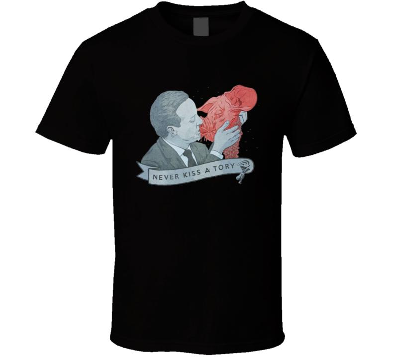 Cameron Taylor England Never Kiss A Tory T Shirt
