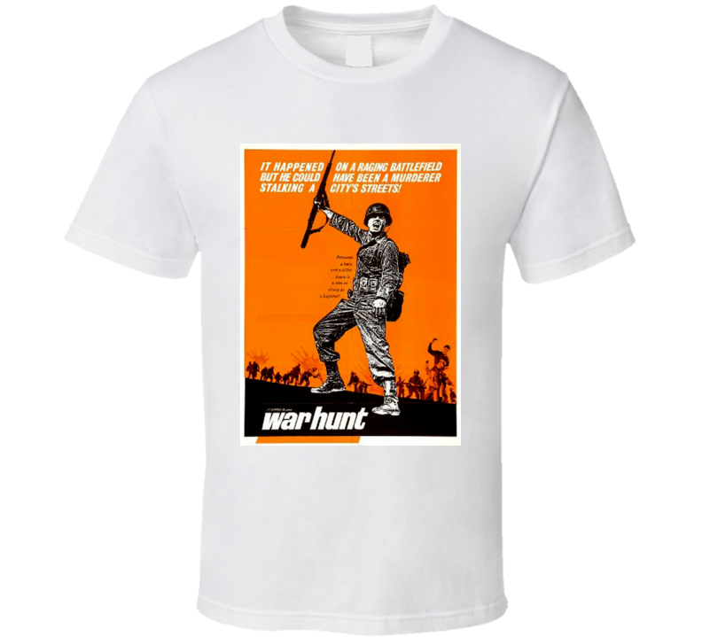 War Hunt Movie John Saxon Robert Redford Classis 60's T Shirt