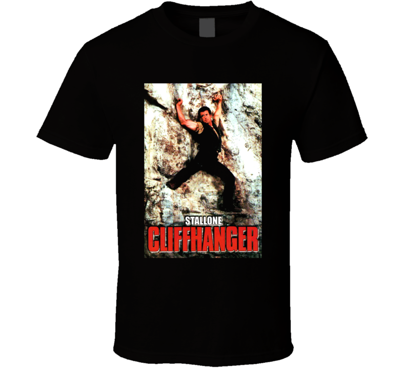 Cliffhanger Movie Sylvester Stallone T Shirt