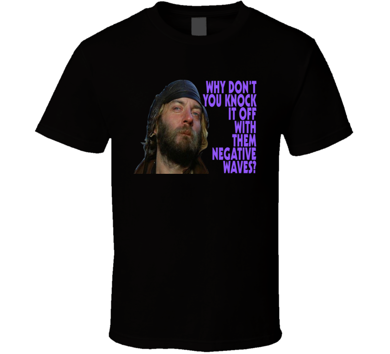 Oddball Kellys Heroes Donald Sutherland Negative Waves T Shirt