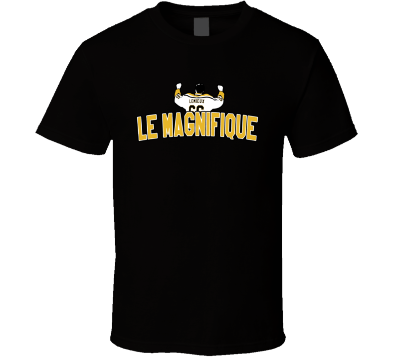 Mario Lemieux Le Magnifique Canadian Hockey Player Pittsburgh Fan T Shirt