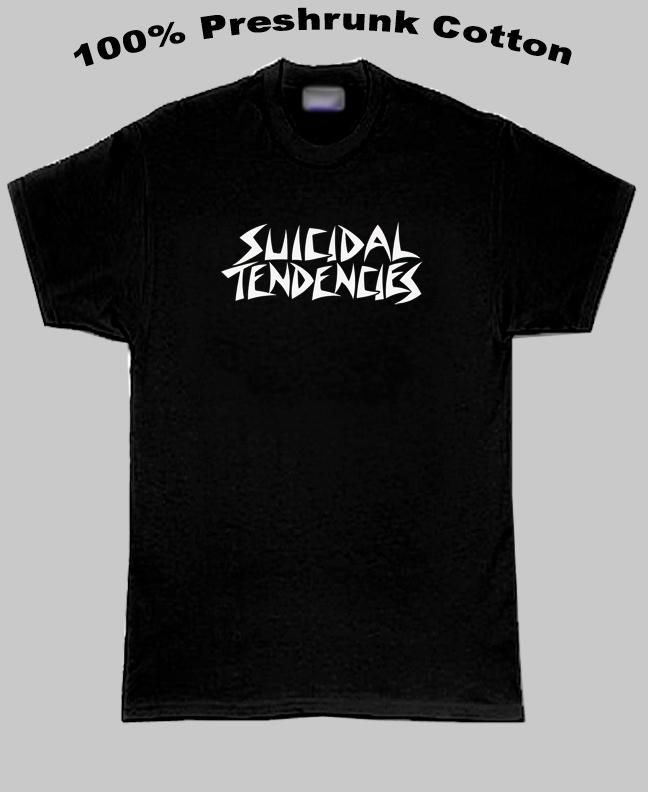 Suicidal Tendencies Heavy Rock Group Logo T Shirt