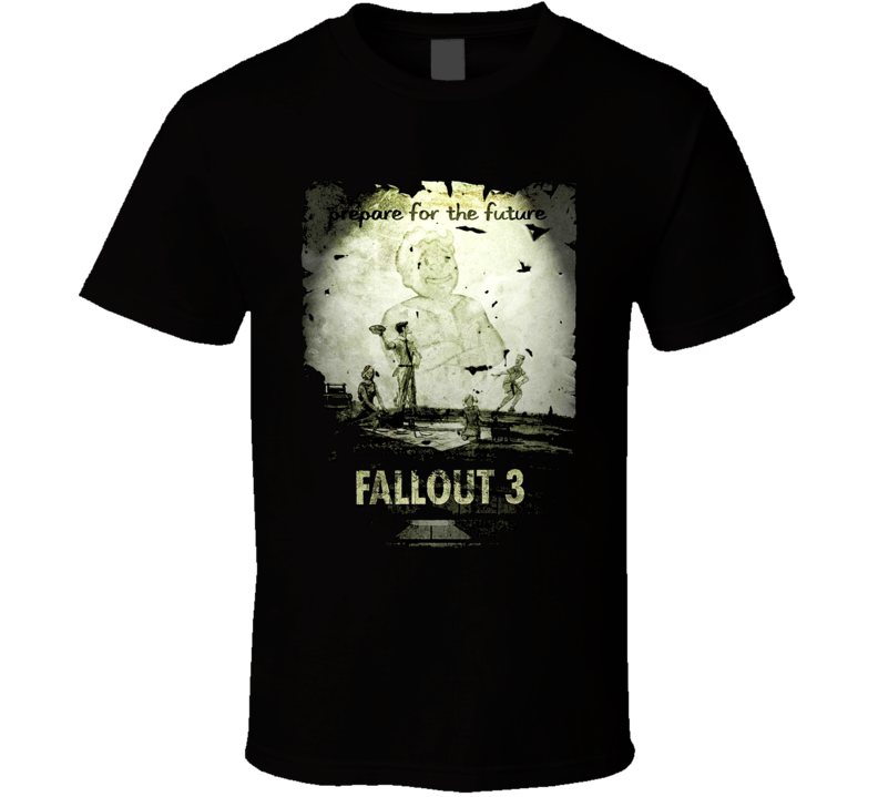 Fallout 3 Video Game T Shirt