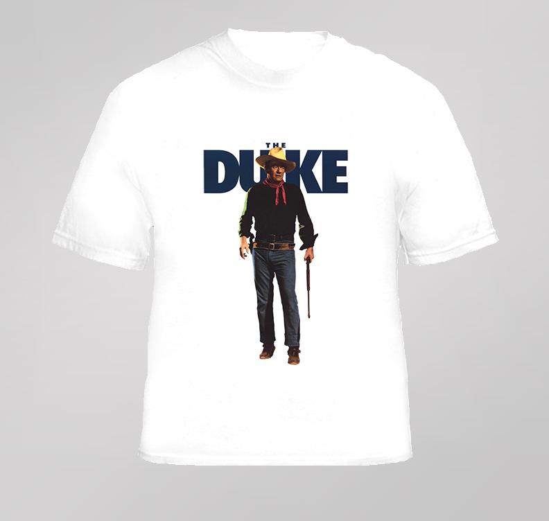 John Wayne The Duke Movie T Shirt