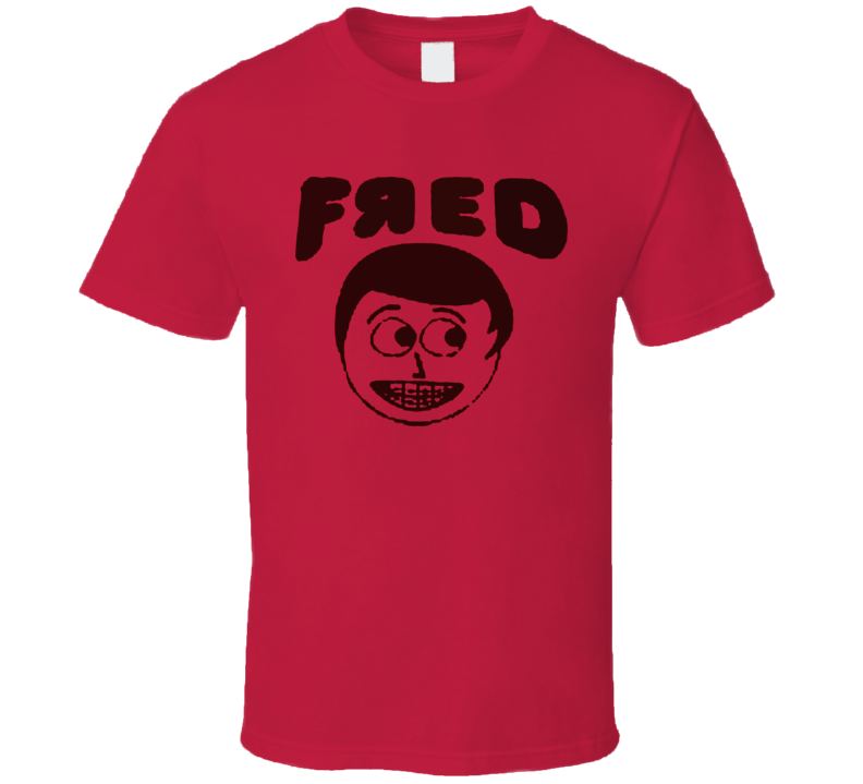 Fred Figglehorn Funny Red T Shirt