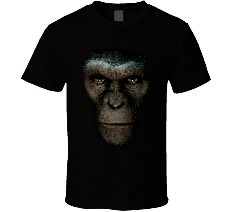 Rise Of The Planet Of The Apes Movie T Shirt