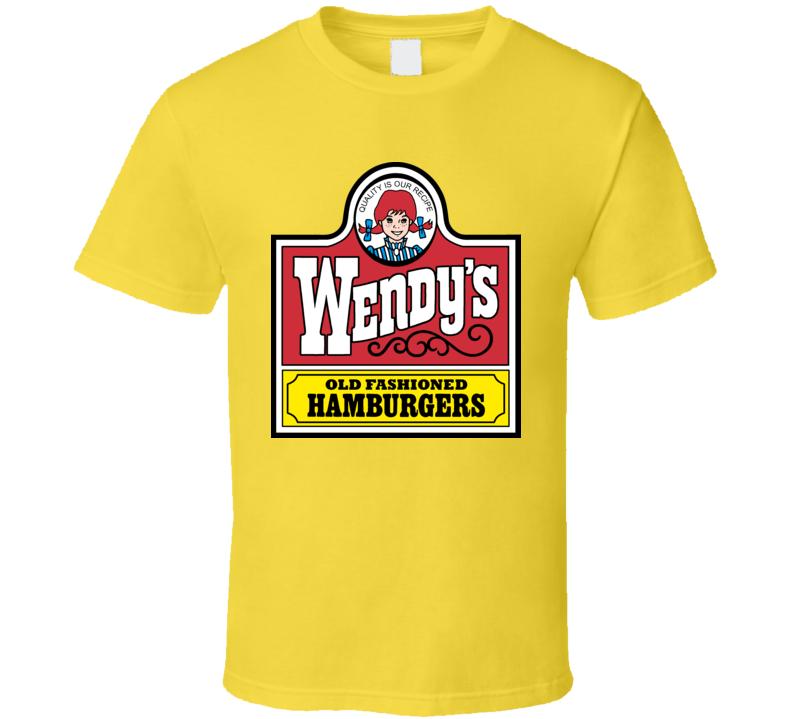 Wendys Hamburger Logo Retro T Shirt